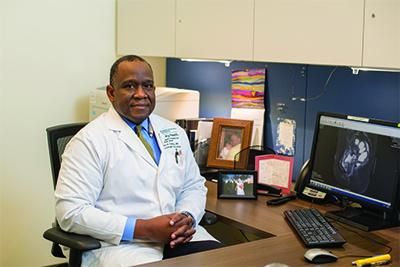 John Farley, MD, helped recruit ovarian cancer survivors to the LIvES trial.